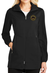Colorado Skating Club Ladies Active Hooded Soft Shell Jacket - Monograms by K & K
