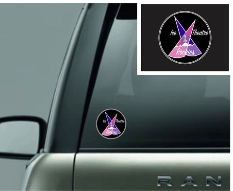 Ice Theatre of the Rockies Car Decal - Monograms by K & K