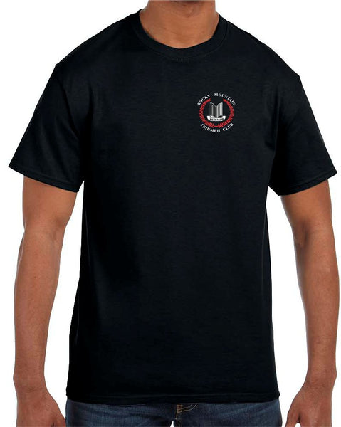 Rocky Mountain Triumph Club Adult Short-Sleeve T-Shirt - Monograms by K & K