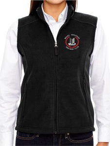 Rocky Mountain Triumph Club Ladies Fleece Vest - Monograms by K & K