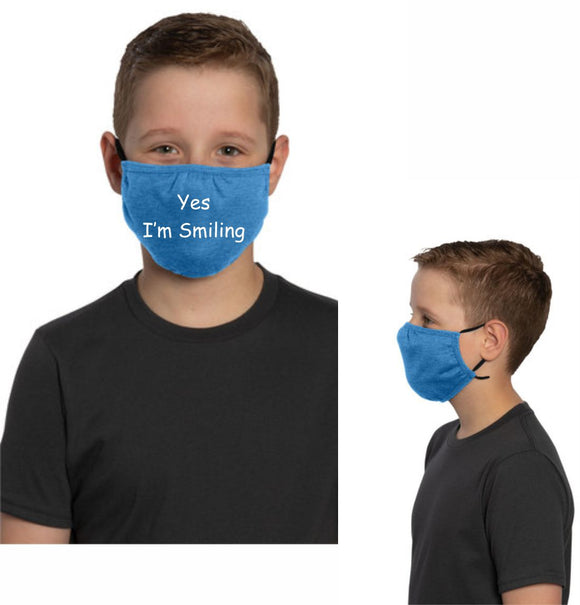 Youth Elastic Strap Mask
