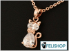 Collier en argent -Diamond- - 🐱 FELISHOP 🐱
