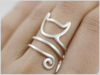 Bague chat -Wrapy 1- - ? FELISHOP ?