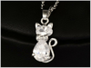 Collier en argent -Diamond-