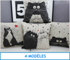 Housse de coussin -Cartoon- - 🐱 FELISHOP 🐱