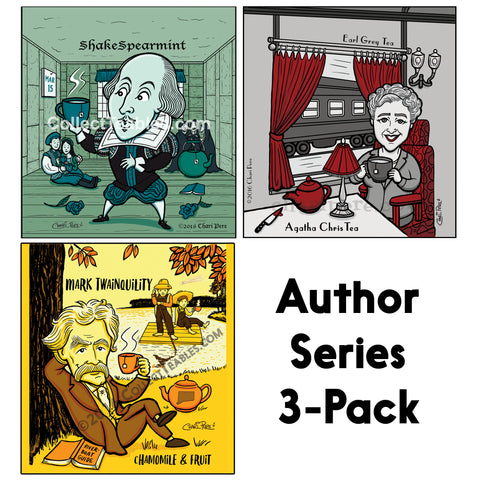 The Complete Authors Series Tea Variety Pack