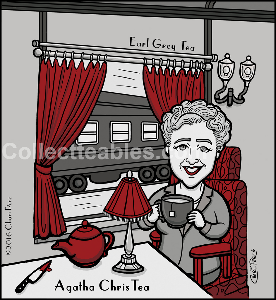 Author Series: Agatha ChrisTEA -Earl Grey.