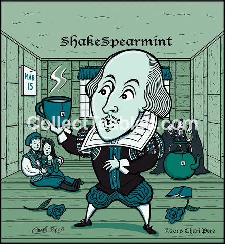 Author Series: Shake Spearemint -Mint Tea.