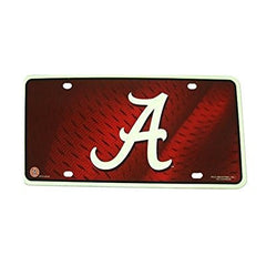 "Alabama Crimson Tide ""A"" Metal Tag License Plate Football 150101 University of"