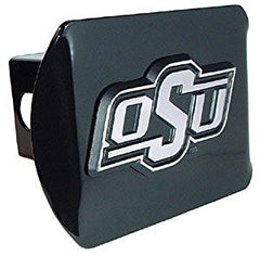Oklahoma State University Black Hitch Cover