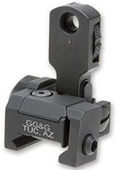 GG&G MAD Flip Up Rear Sight - Trijicon Tritium Night Sights