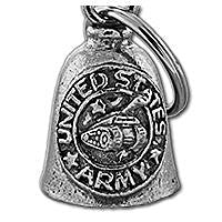 Army Motorcycle Biker spirit guardian bell