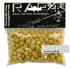.43 Caliber Plastic BBs (Bag of 250) (Orange) - paintballs