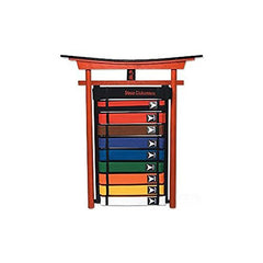 10 Level Karate Belt Display - Wall Mount