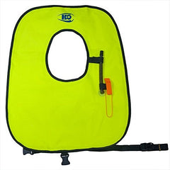 Adult & Child Snorkel Vests - Snorkeling Vest with Safety Whistle - Brass Oral Inflator Valve