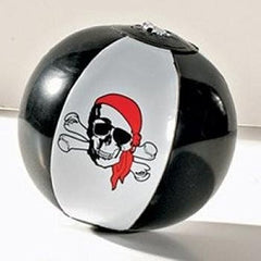 12 Inflatable Pirate Beach Balls