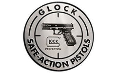 Glock Perfection OEM Safe Action Aluminum Sign