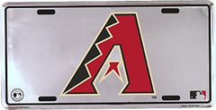 Arizona Diamondbacks Super Stock metal auto tag mirror background