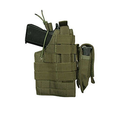 Condor Ambidextrous MOLLE Holster for Beretta with Mag Pouch - OD Green