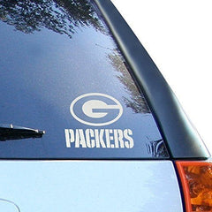 "NFL Packers Green Bay Window Graphic Sticker, 9"" x 5"" x 0.2"", Team Logo"