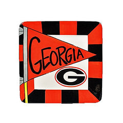 "8"" University of Georgia Ceramic Flag Square"