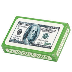 $100 Bill Playing Cards - Games & Activities & Playing Cards