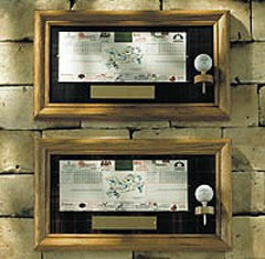 Golf Ball Scorecard Display