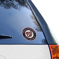 MLB Washington Nationals Small Window Cling