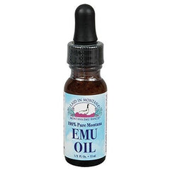Buy 100% Pure Montana Emu Oil Laid In Montana 0.5 oz Liquid