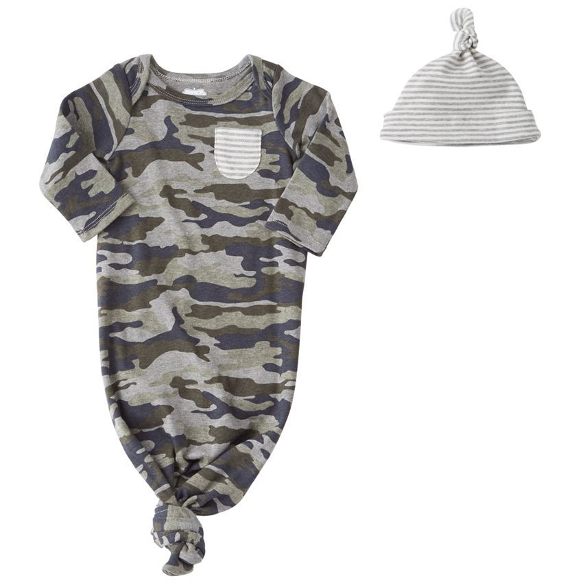 5e29065ab Navy Camo Sleeper Set – The Wildflower Market