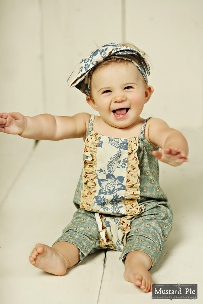Mustard Pie Girls Romper [Product_title] Mustard Pie