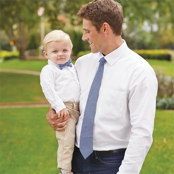 Daddy & Me Tie & Bow Tie Set