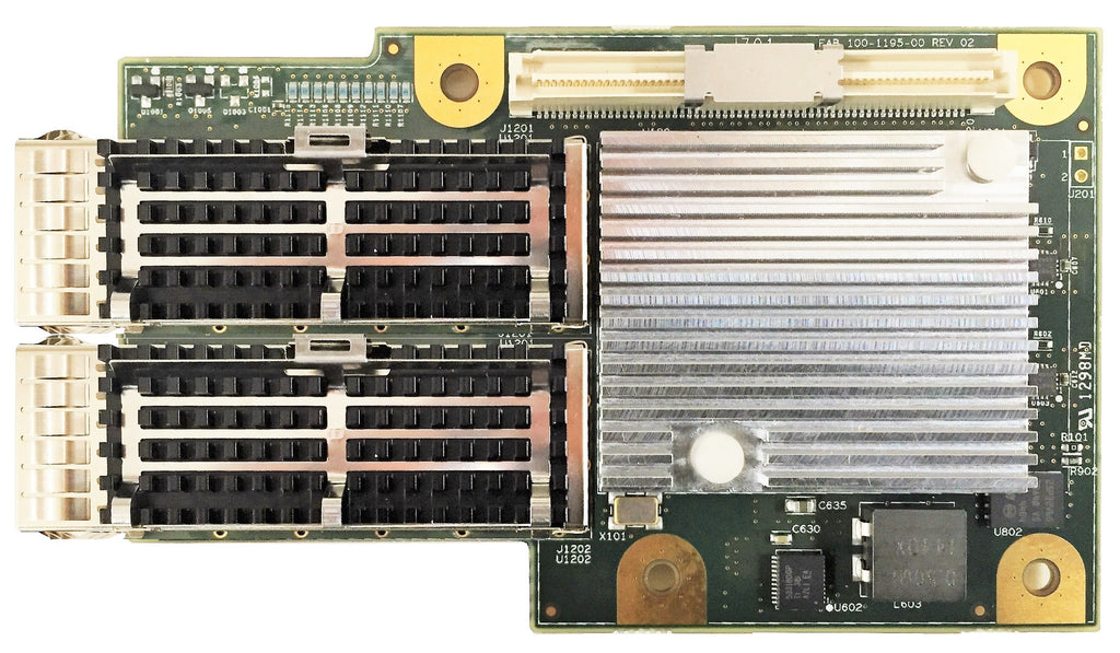 T580-OCP: 2-port OCP 10/40GbE Server Offload Adapter with PCIe 3.0 x8 Interface, QSFP connector