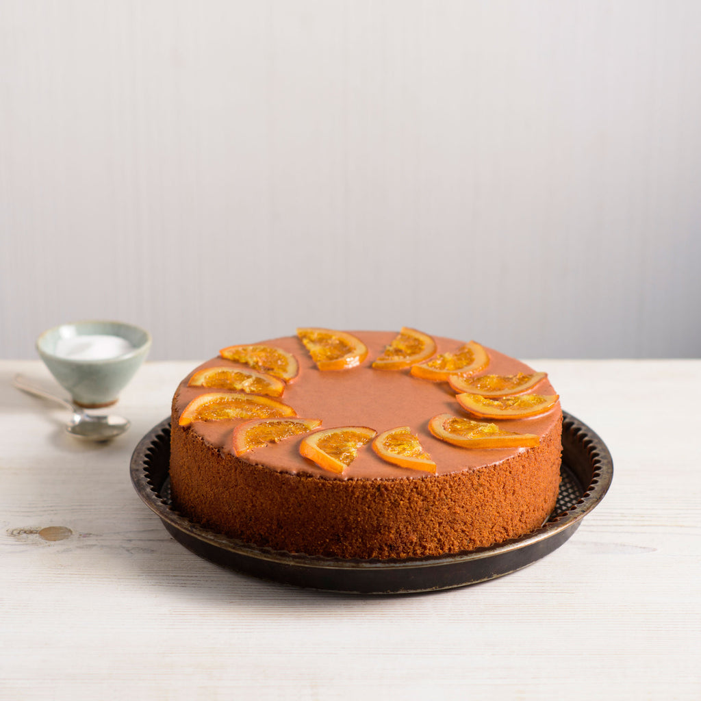 Orange Lavender Syrup Cake