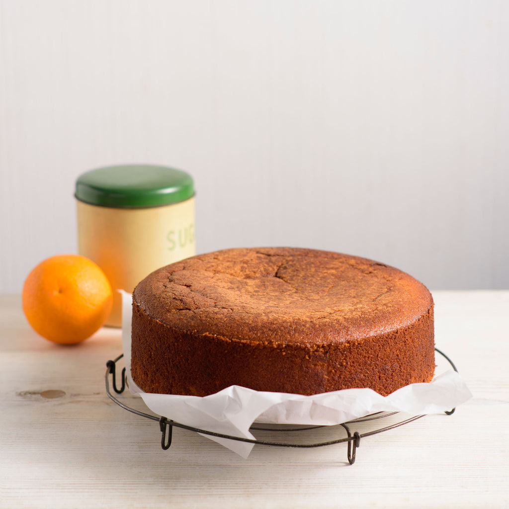 Sticky Orange Almond Cake