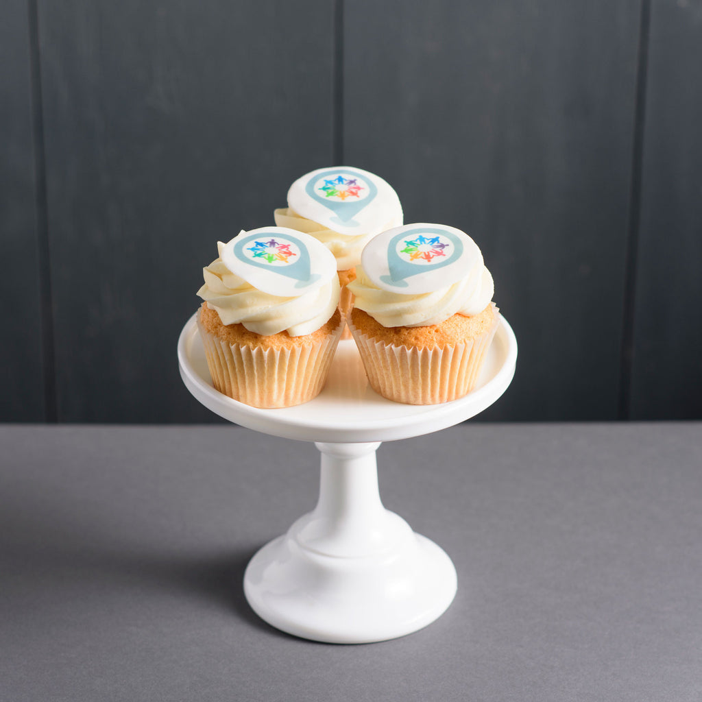 Printed Cupcake (Box of 12)