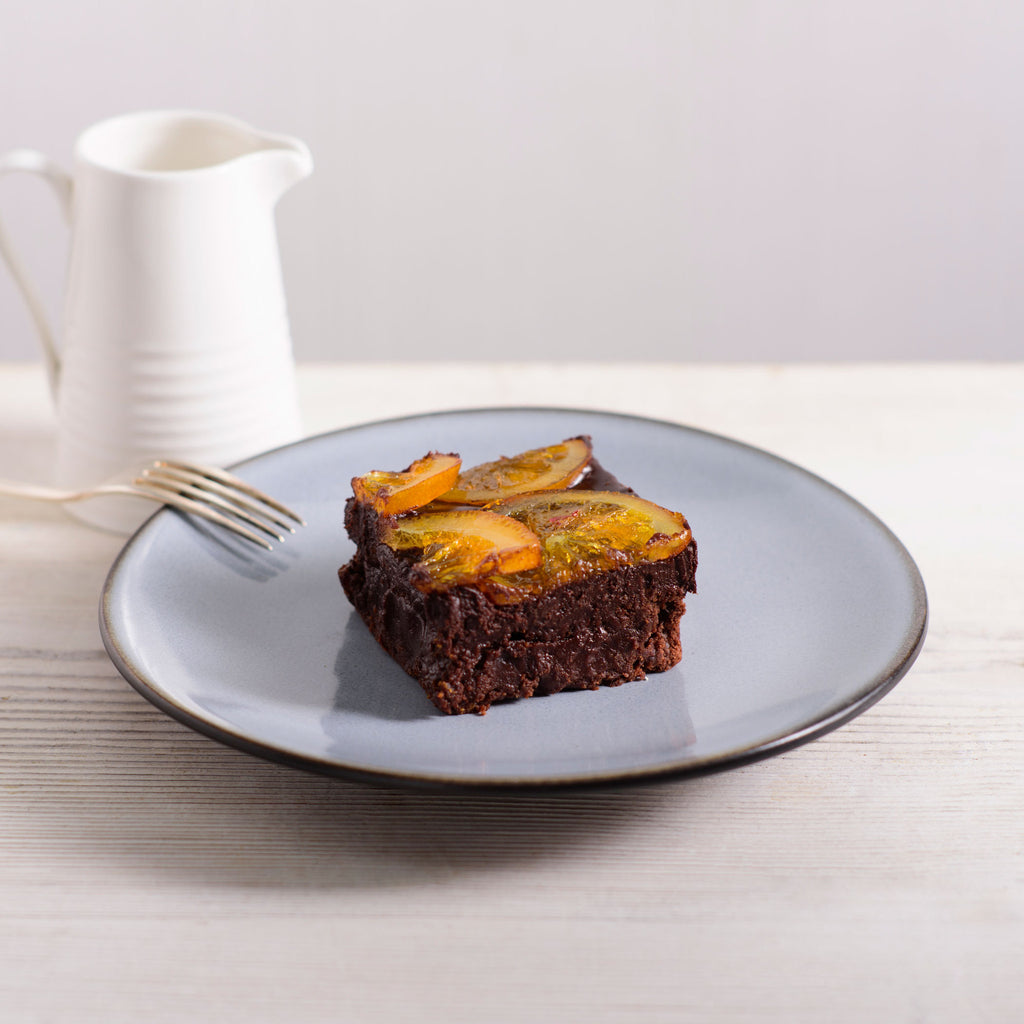 Cakehole's Chocolate Orange Brownie