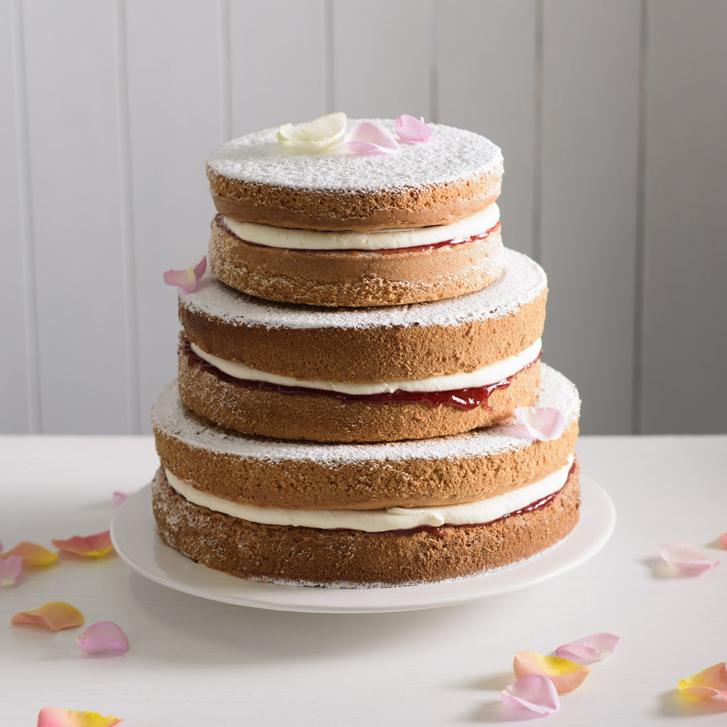 Wedding – Naked Tiered Cake