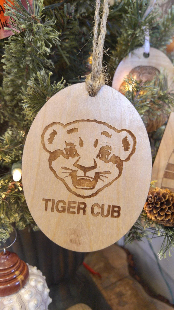 Cub Scouts Boy Scout Christmas Ornaments