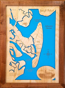 Our mesmerizing Map of Jekyll Island!