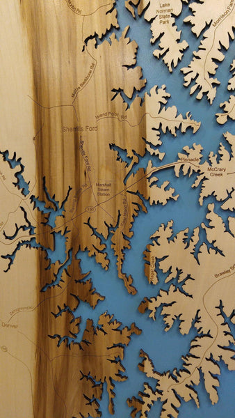 Laser Cut Maps - Personal Handcrafted Displays