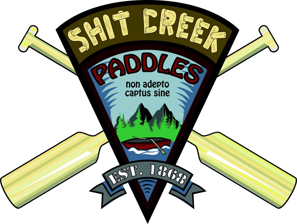 Shit Creek Paddle Company Gifts and Novelties