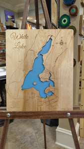 White Lake Map