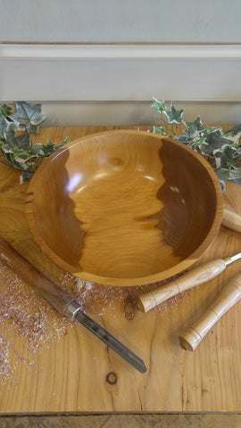 Two-Toned Walnut Bowl