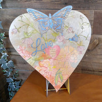 DIY - Adult Coloring - Wood Heart