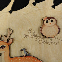Woodland Animal Guest Book