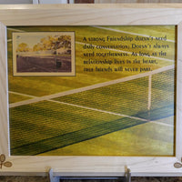 Custom Frame Engraving