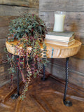 Deodar Cedar Accent Table