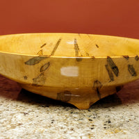 Hand Turned Bowl - Ambrosia Maple