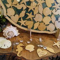 Sand Dollar Guest Book
